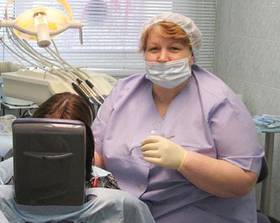При м у секси стоматолога