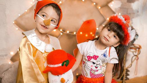 Детские новогодние карнавальные костюмы