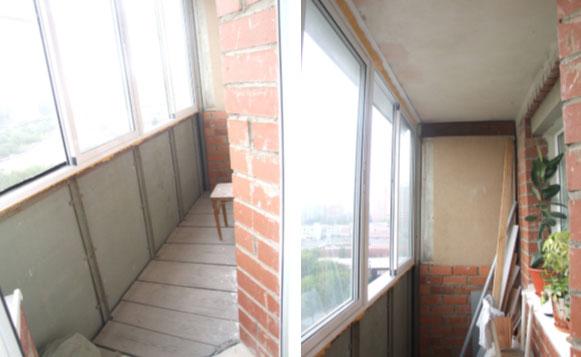 Ремонт на балконе своими руками дешево.