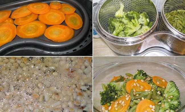 Рецепты овощей в пароварке рецепты