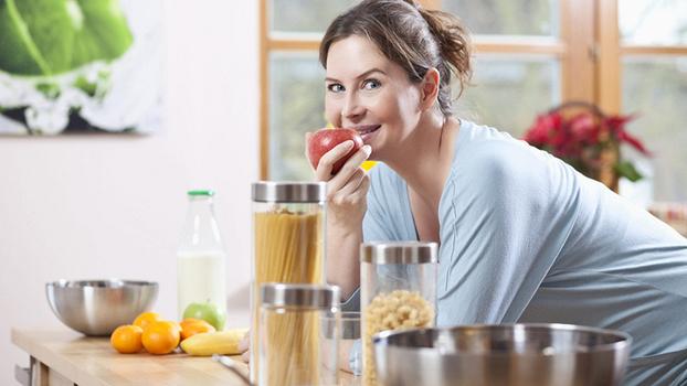 Контроль веса во время беременности: правила питания