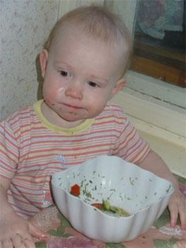 Чем кормить ребенка на обед?
