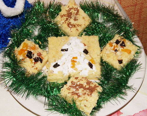 Новогодний пирог «Творожное чудо»