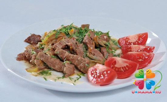 Азу по-татарски рецепт с фото из говядины пошаговый рецепт с фото