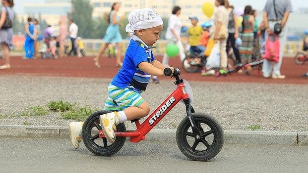 Детские гонки на колёсах 2018