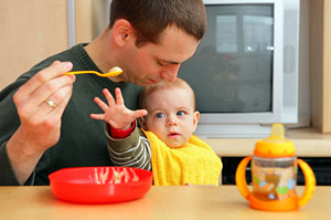 Как научить ребенка есть самостоятельно (часть 2)