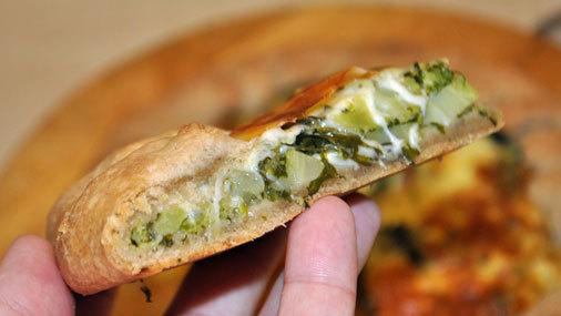 Открытый пирог. «Зеленая» галета