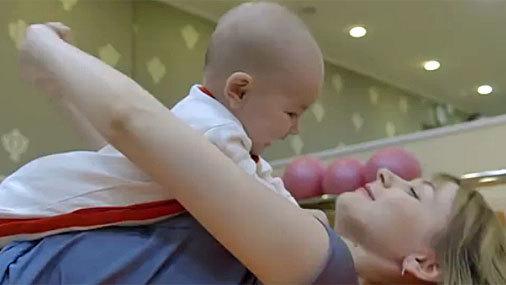 Упражнения после родов. Для мамы с малышом