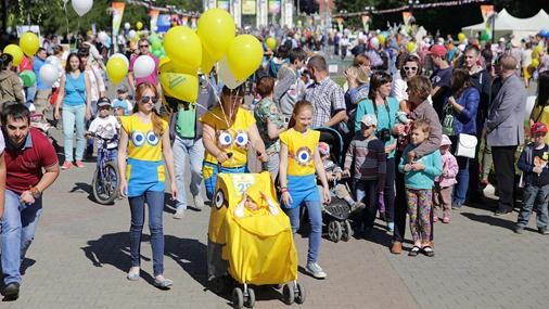 Парад колясок 2018 в Екатеринбурге!