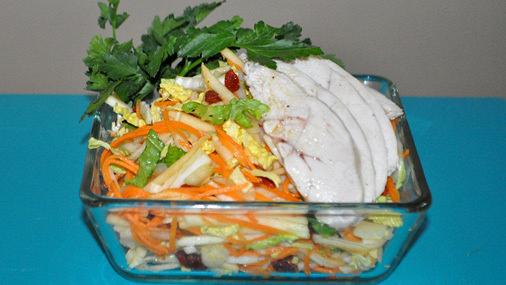 Фитнес-салаты: три простых рецепта