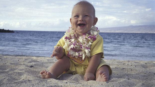 Что взять в поездку на море с малышом. Список вещей