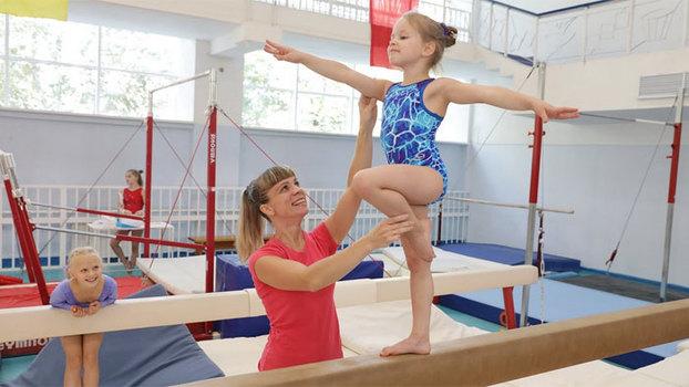Фоторепортаж. Спортивная гимнастика для детей в «Юности»