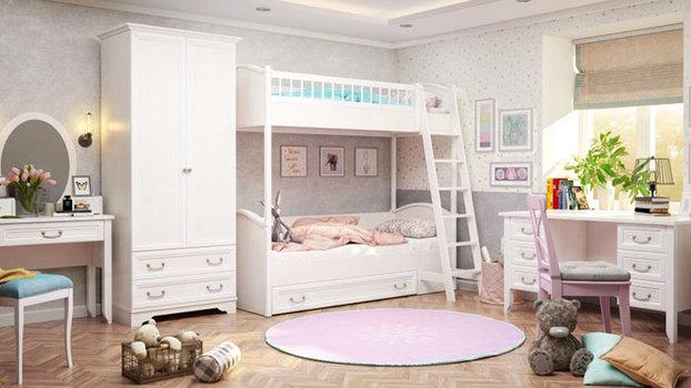 Детские двухъярусные кровати: важные моменты безопасности