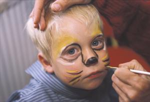 Костюм рыжего кота для мальчика
