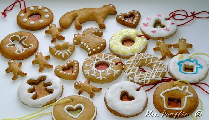 рецепт медового печенья формочками