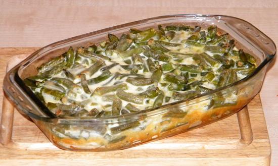 стручковая фасоль в духовке рецепт с фото