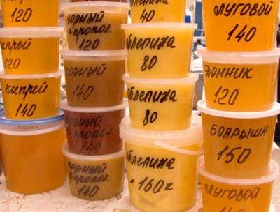 какой бывает мед название и фото