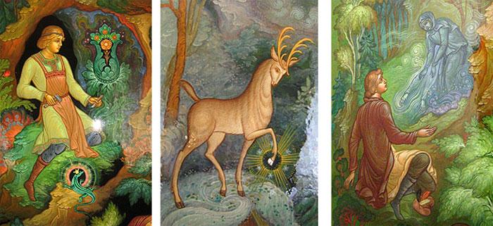 Картинки по запросу анимационные картинки сказки бажова