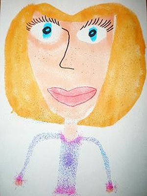 детские рисунки мамы: