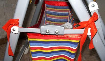 Корзина для покупок для коляски своими руками