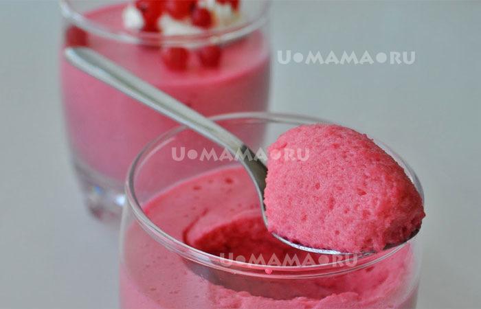 Как приготовить мусс из ягод