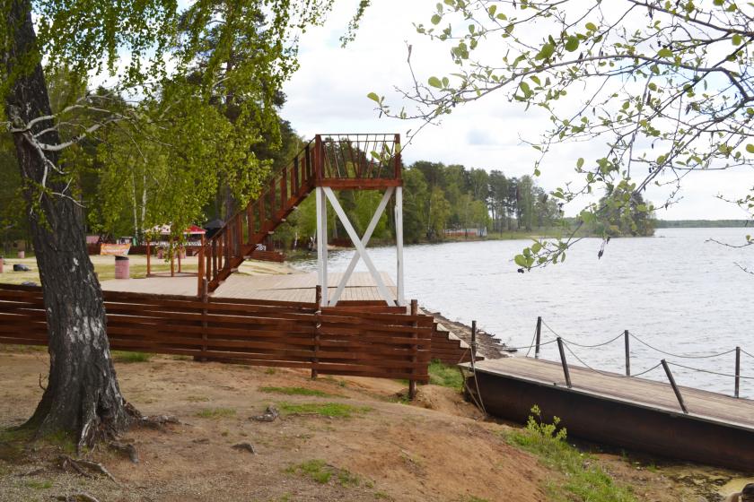 Где отдохнуть от жары на озере Балтым. Обзор балтымских пляжей