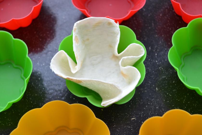 Супервкусные закусочные кексы из лаваша с начинкой