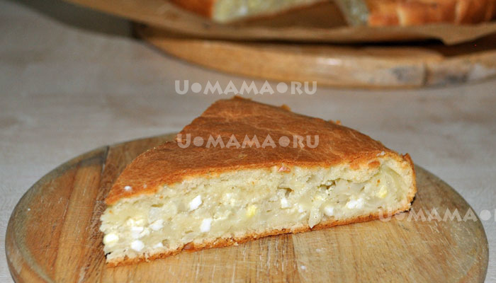 жидкое тесто пирог с капустой на