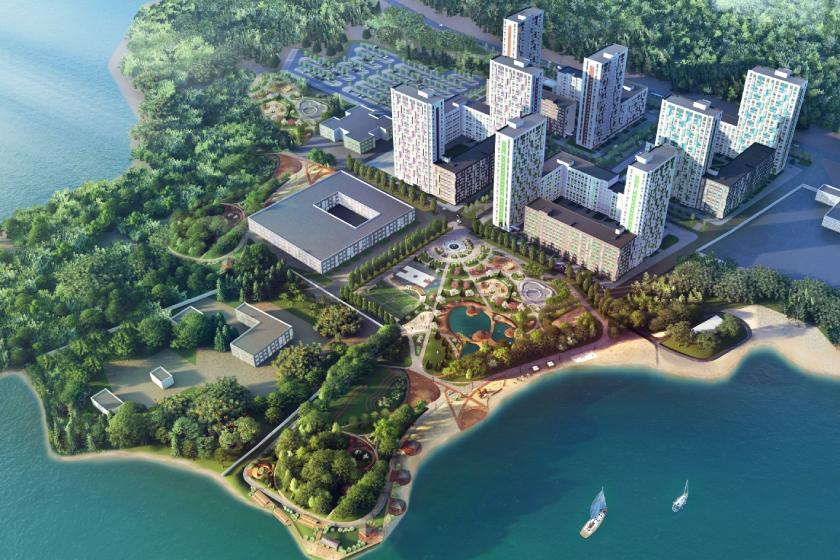 «River Park» — ваш новый дом, парк, пляж и горы