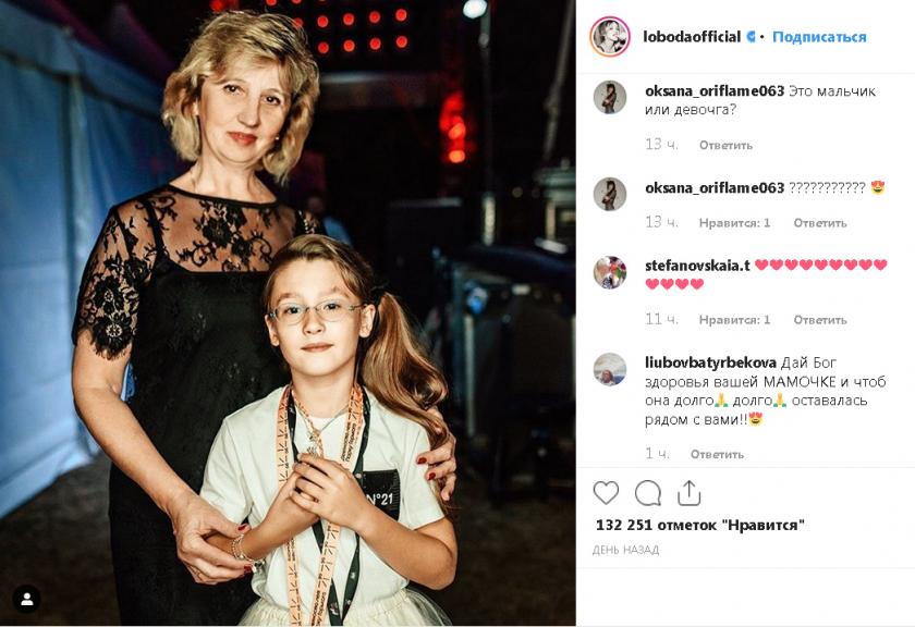 Российские звезды показали фотографии своих мам