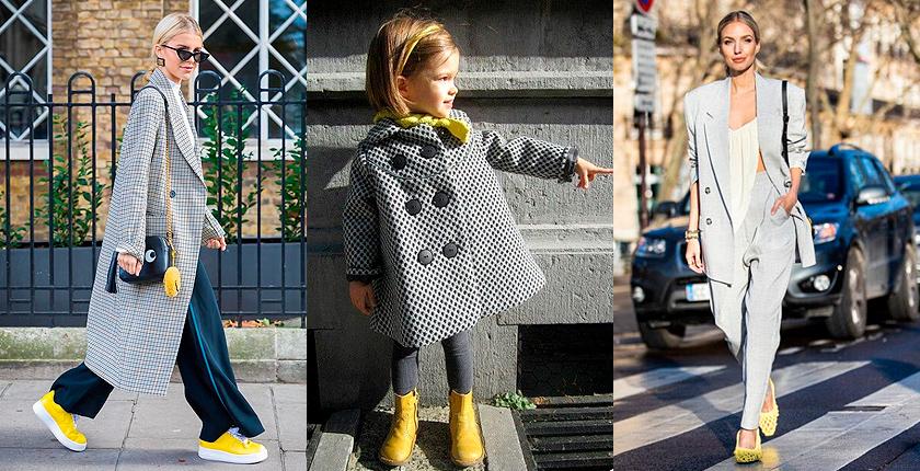 Модные цвета 2021 года – серый и желтый. Как будем носить?