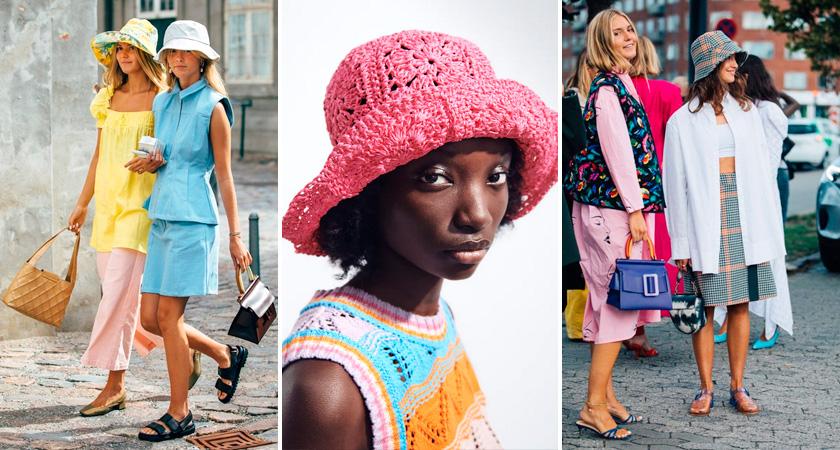 Модные головные уборы лета 2021