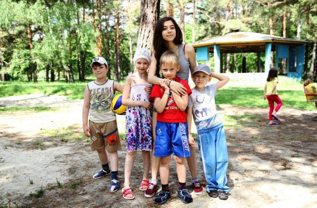 Детский лагерь секс видео