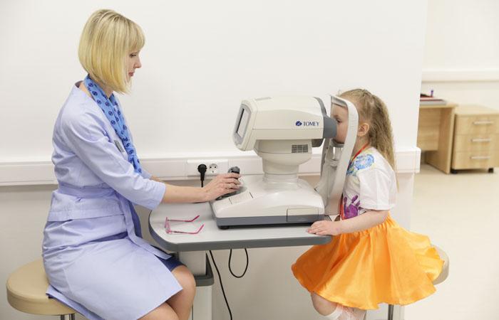 Фоторепортаж в Отделении охраны детского зрения в Екатеринбурге