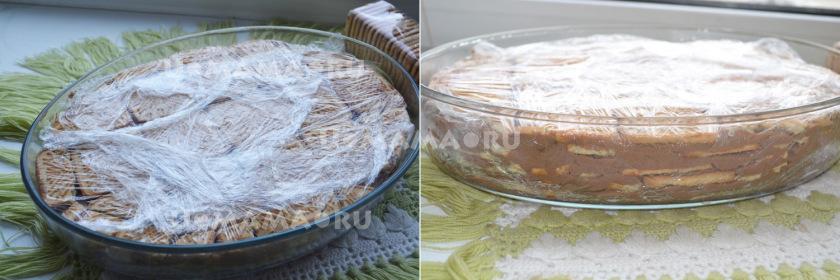 Шоколадный торт из печенья без выпечки. Готовим вместе с детьми!