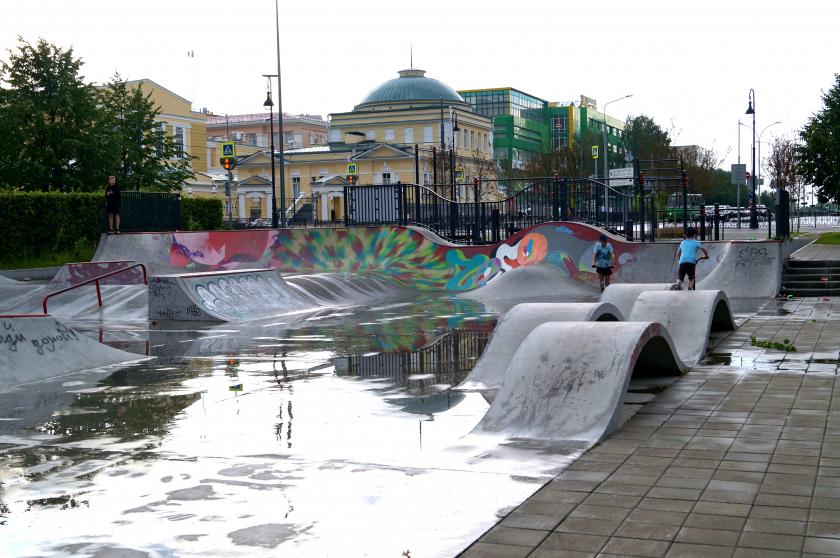 Детские площадки Екатеринбурга (Центр). Обзор с фото