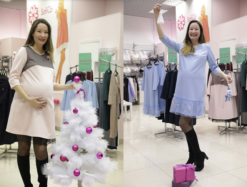 Зимняя одежда для беременных. Верхняя и повседневная коллекция в SofiCo.  Фоторепортаж 362dae773d6