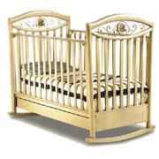 Кроватка с полозьями-качалкой