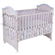 Кроватка детская белая